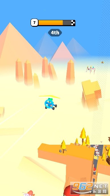 公路滑翔机安卓版v1.0.7无限金币版截图4