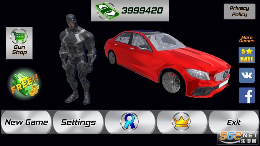 英雄犯罪模拟器破解版v1.05 内购版截图0