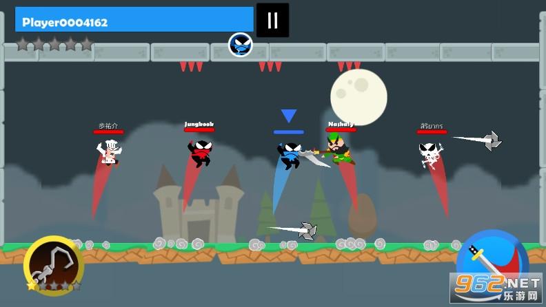 忍者跳跳跳破解版v1.0.0 角色全解锁截图2
