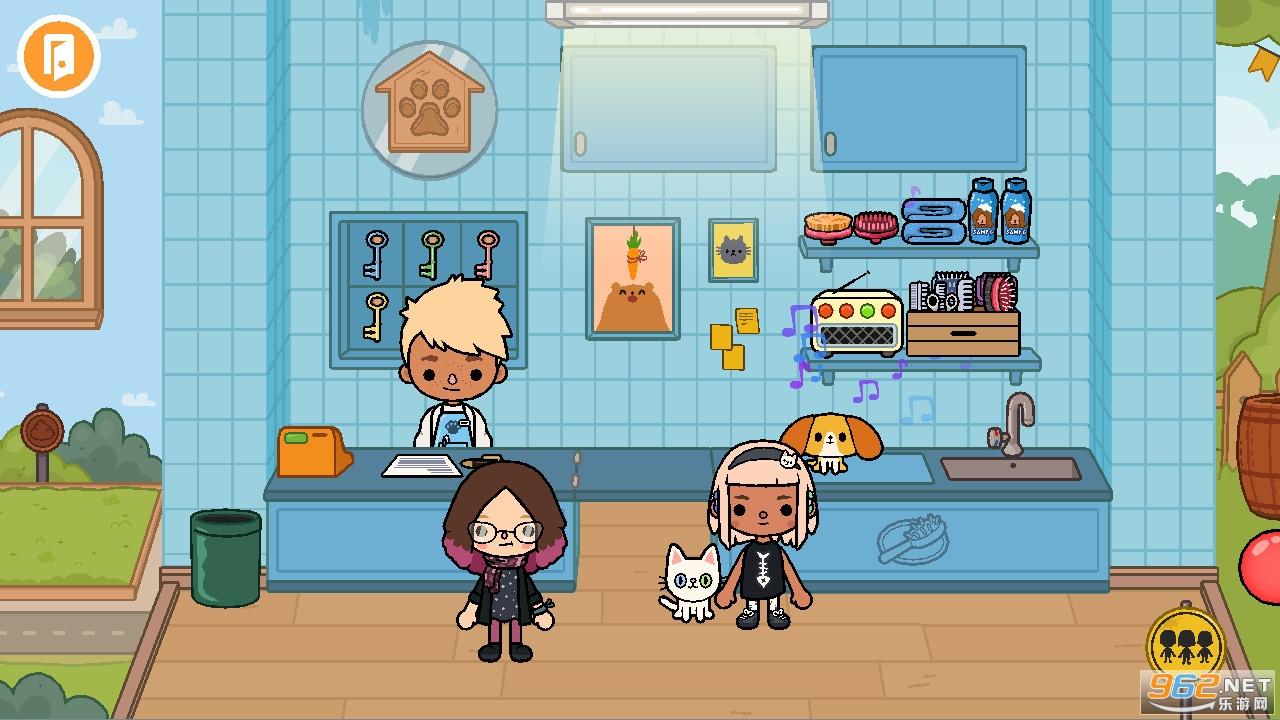 托卡生活宠物店游戏中文版v1.0 汉化版截图1