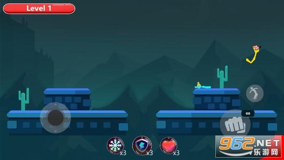火柴人皇冠对决游戏v1.2武器解锁版截图0