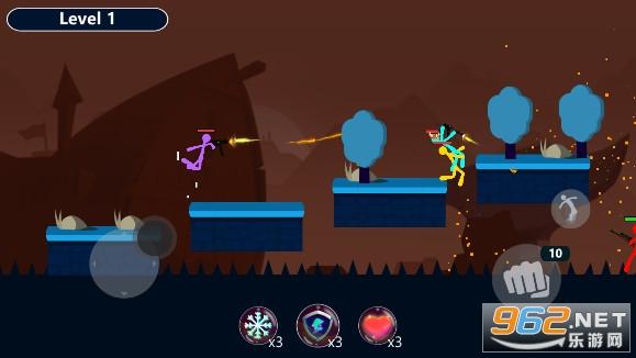 火柴人皇冠对决游戏v1.2武器解锁版截图1