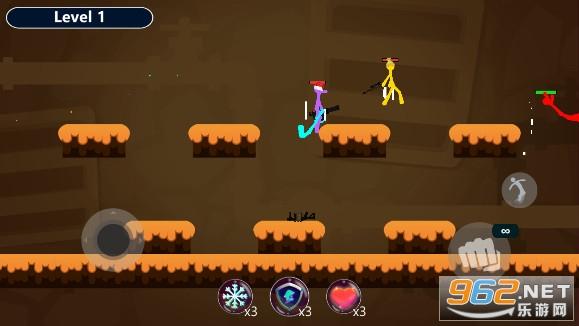 火柴人皇冠对决游戏v1.2武器解锁版截图3