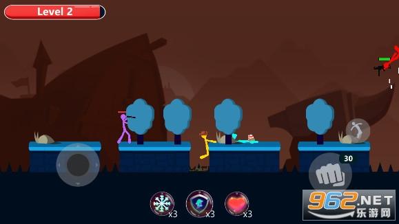 火柴人皇冠对决游戏v1.2武器解锁版截图4