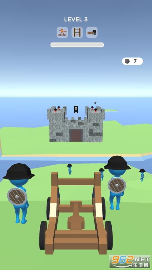 Siege Master 3D官方版v0.1.0 苹果版截图3