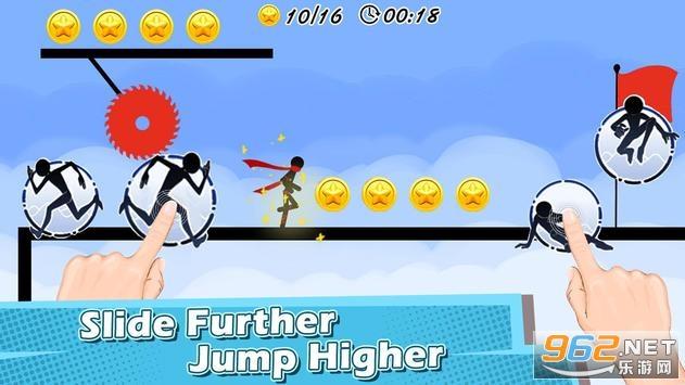 火柴人跑酷模拟器游戏v1.9 破解版截图2