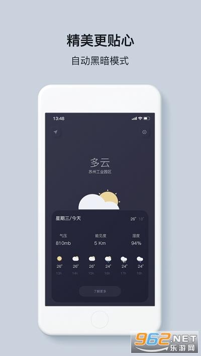 什么天气(IOS14天气小组件)