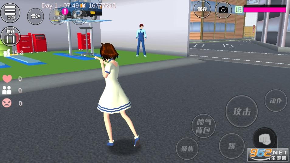 樱花校园模拟器中文版最新版2021v1.036.08 追风汉化截图0