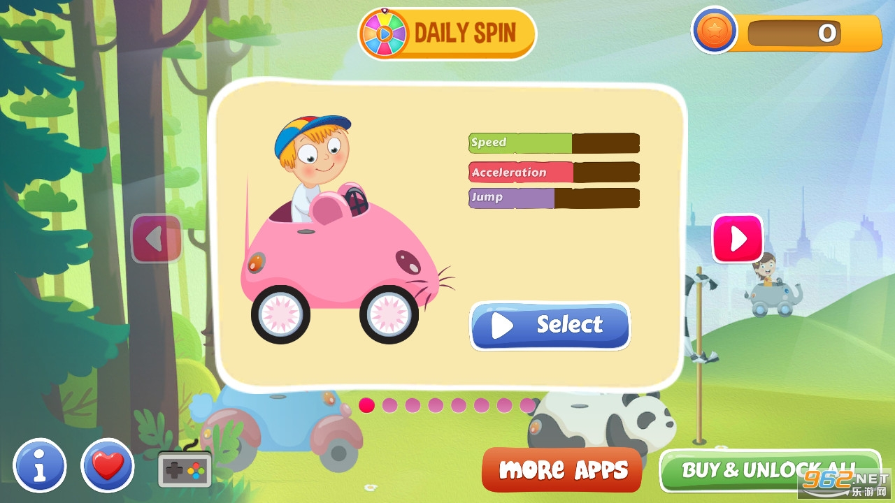 宝宝赛车乐园游戏v3.1.2 破解版截图6