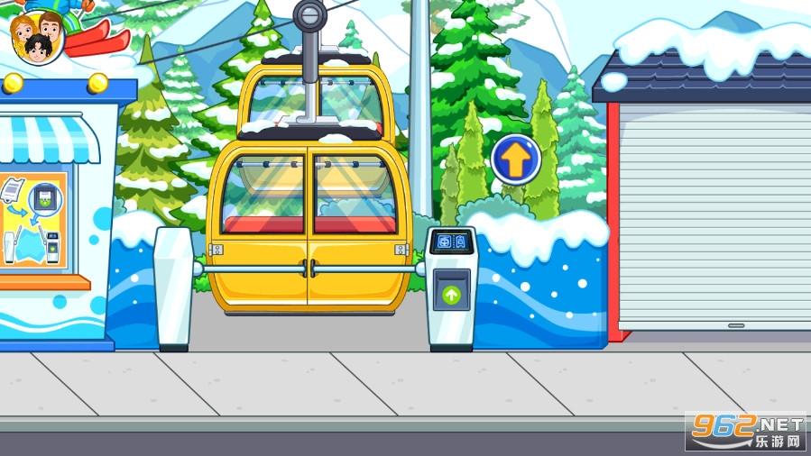 我的城市滑雪场完整版v2.5.0 破解版截图1