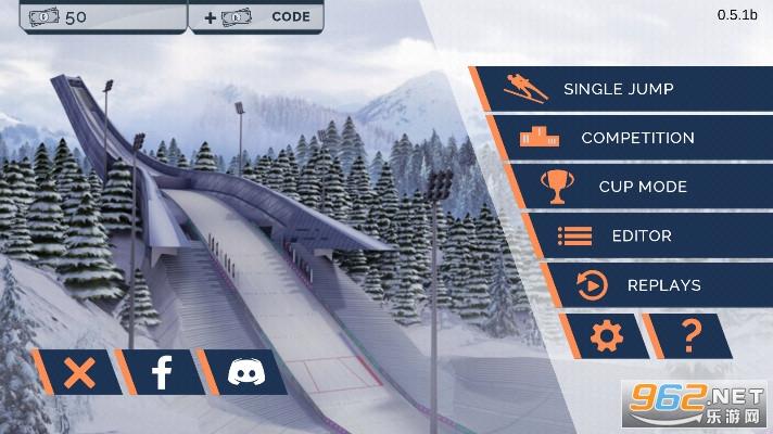 很好跳台滑雪破解版v0.5.1b中文版截图0