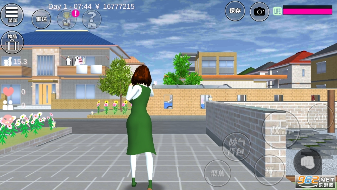 樱花学园高校模拟器最新版中文版v1.036.08 婴儿版截图0