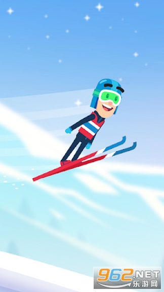 滑雪冒险飞越雪山游戏v1.0 安卓版截图2