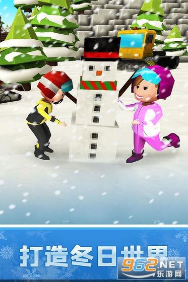像素滑雪世界游戏