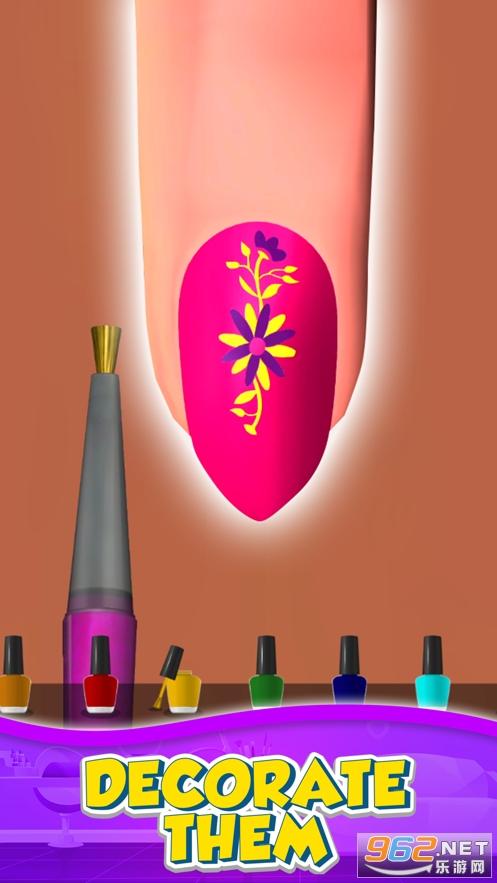 时尚美甲店游戏v1.2.0 (Nail Salon 3D)截图2