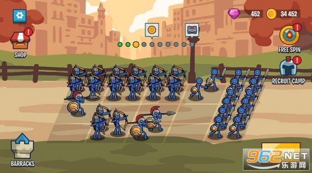 火柴人战争2军团之战无限金币钻石v1.1.3最新版截图3