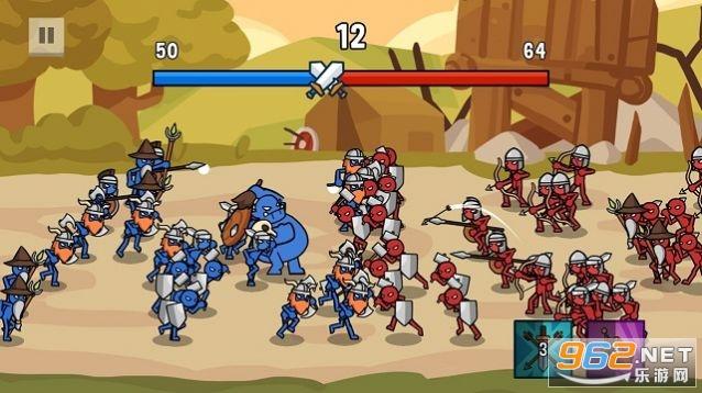 火柴人战争2军团之战无限金币钻石v1.1.3最新版截图1
