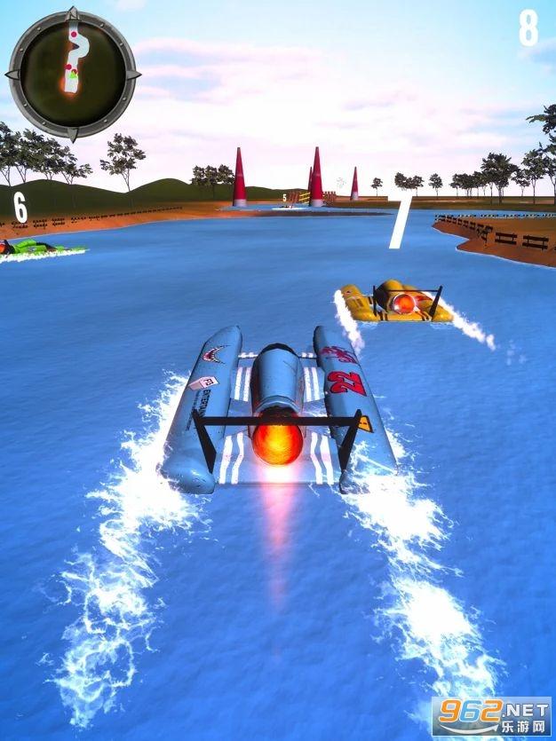 越野水上飞机ios版v1.0 苹果版截图1