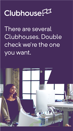 clubhouse注册截图1