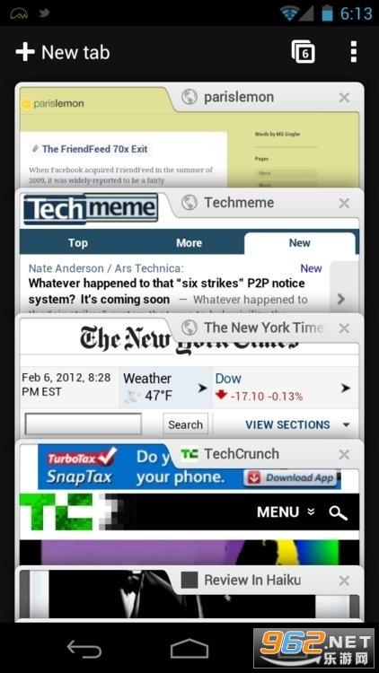 Chrome手机版v89.0.4389.72 app截图0