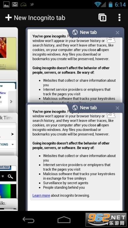 谷歌浏览器手机版免费官方v89.0.4389.72 安装截图1