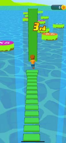 搭桥竞速赛游戏v1.0.1 苹果版截图0