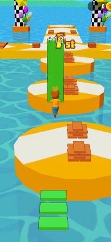 搭桥竞速赛游戏v1.0.1 苹果版截图1
