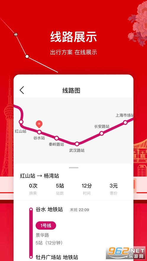 洛易行官方版(洛阳地铁)v1.0.0 苹果版截图3