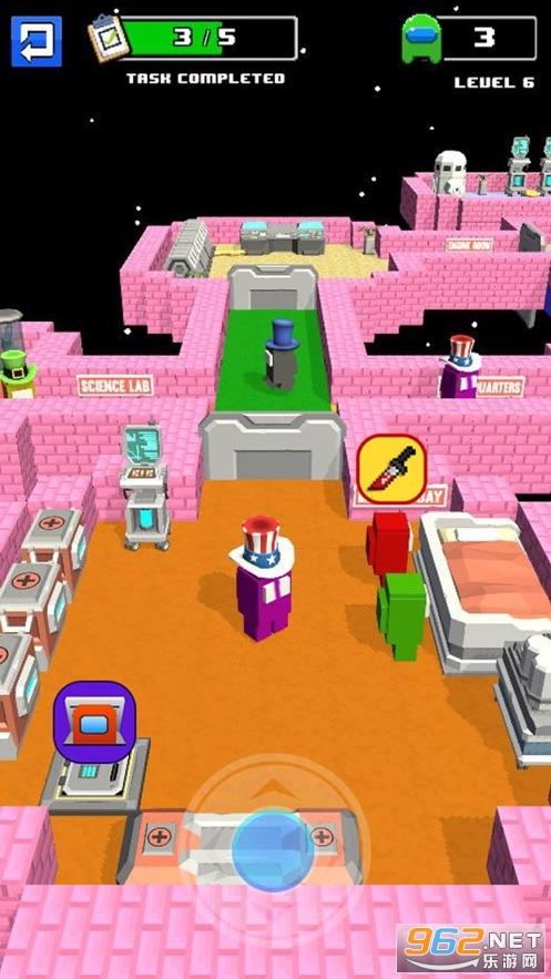 伪装者对战宇航员游戏v1.0最新版截图0