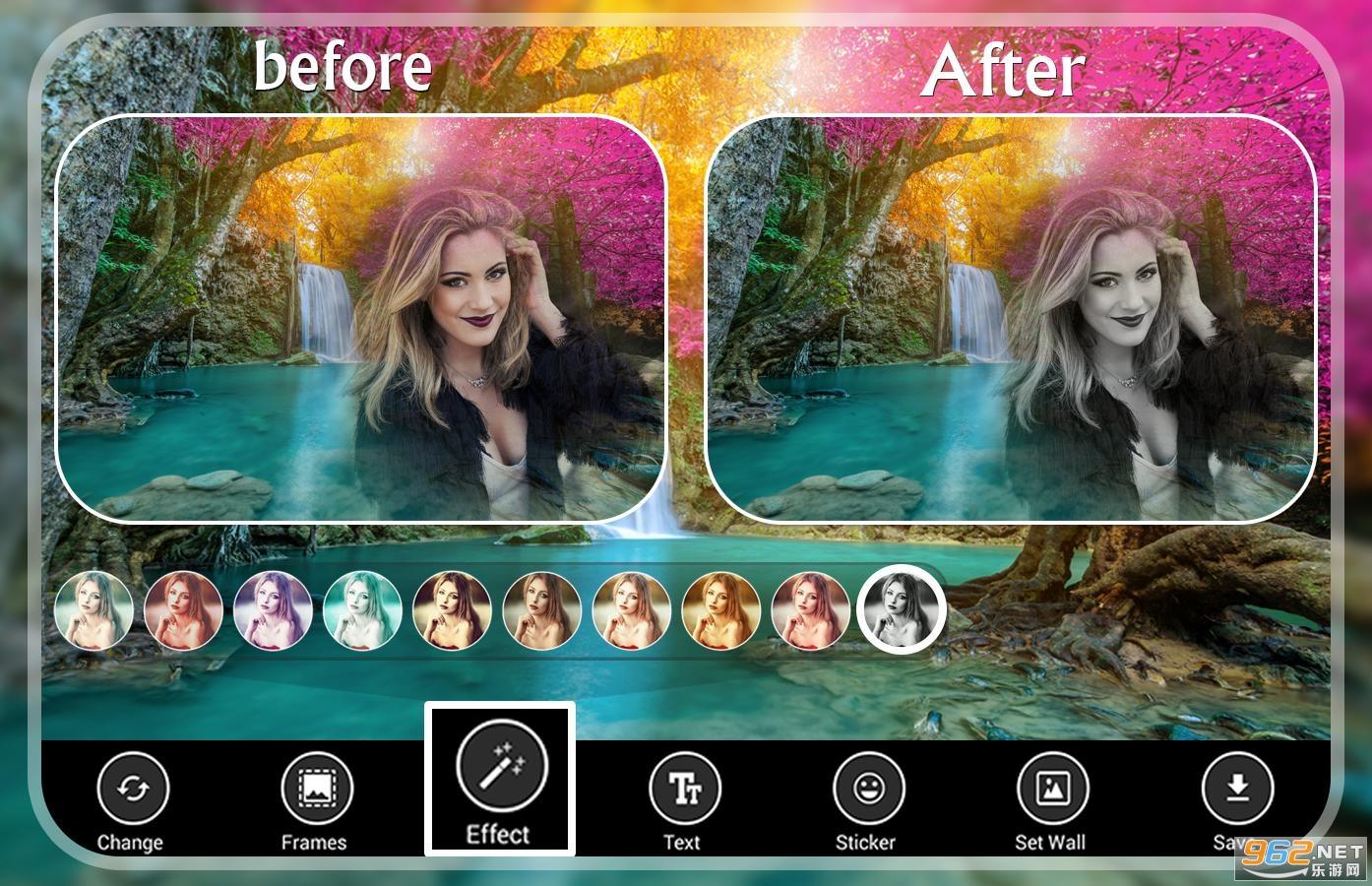Waterfall Photo Frames瀑布相框v9.0 安卓版截图1