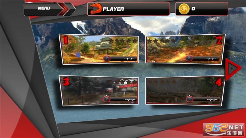 越野摩托车赛游戏v1.0.4 无限金币截图2