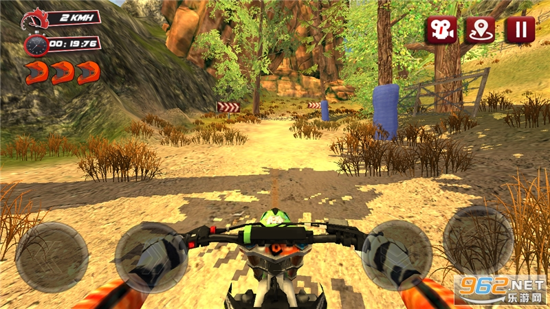 越野摩托车赛游戏v1.0.4 无限金币截图6