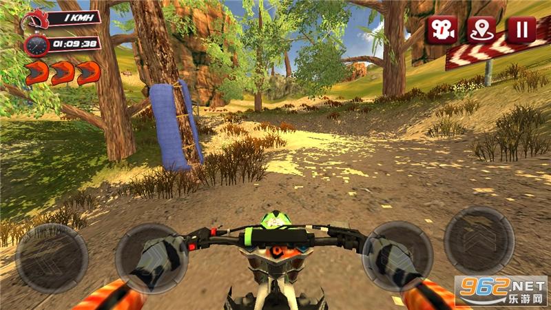 越野摩托车赛游戏v1.0.4 无限金币截图5
