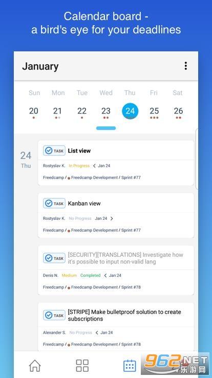 Freedcamp任务管理appv4.3.3 最新版截图2