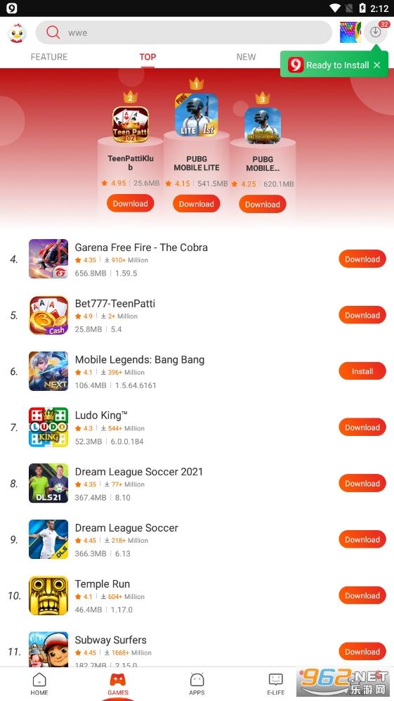 9apps download 2020v4.0.8.3 app截图2