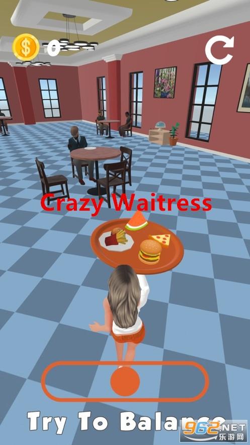 Crazy Waitress游戏