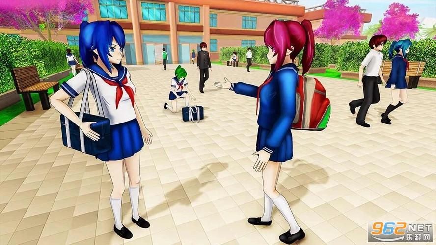 动漫高校生活模拟器游戏