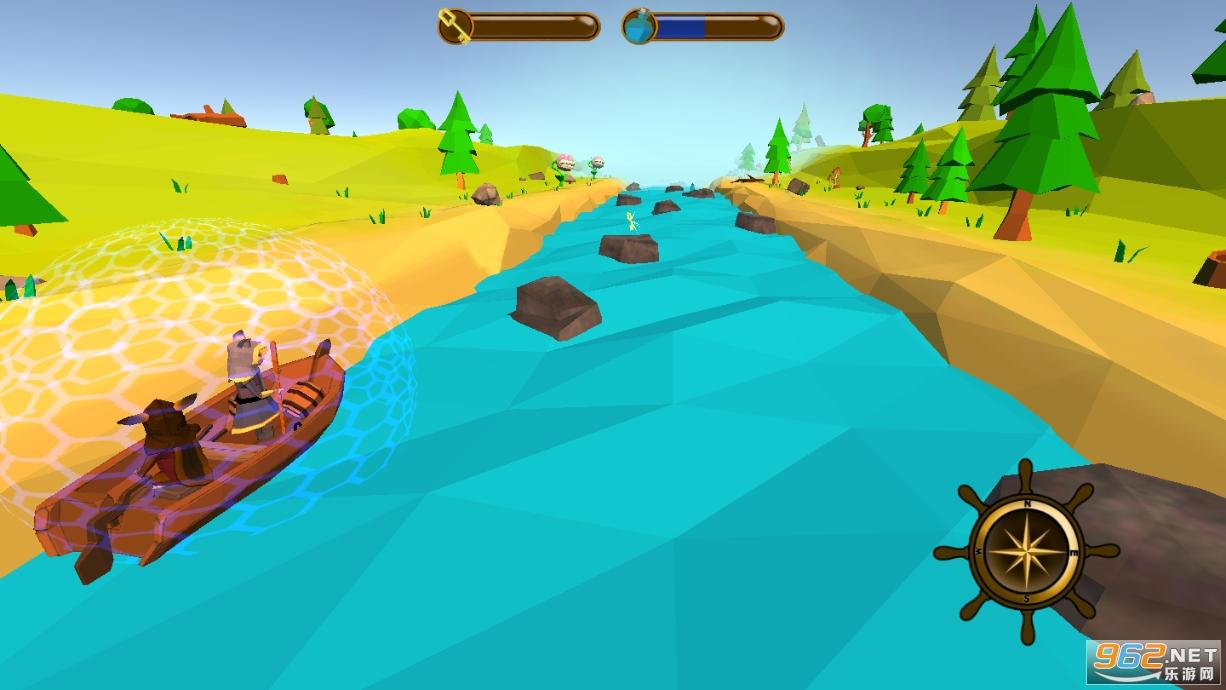 我的木筏旅行汉化版v0.4 (Little trip)截图3