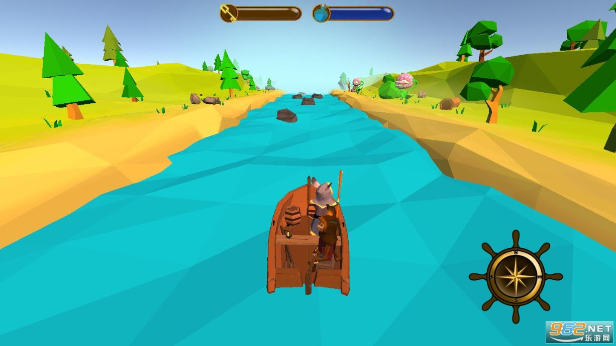 我的木筏旅行汉化版v0.4 (Little trip)截图2