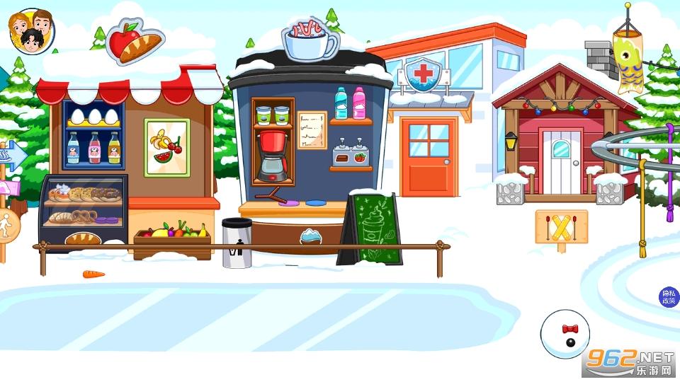 托卡迷你城市滑雪人游戏v1.5 安卓版截图2