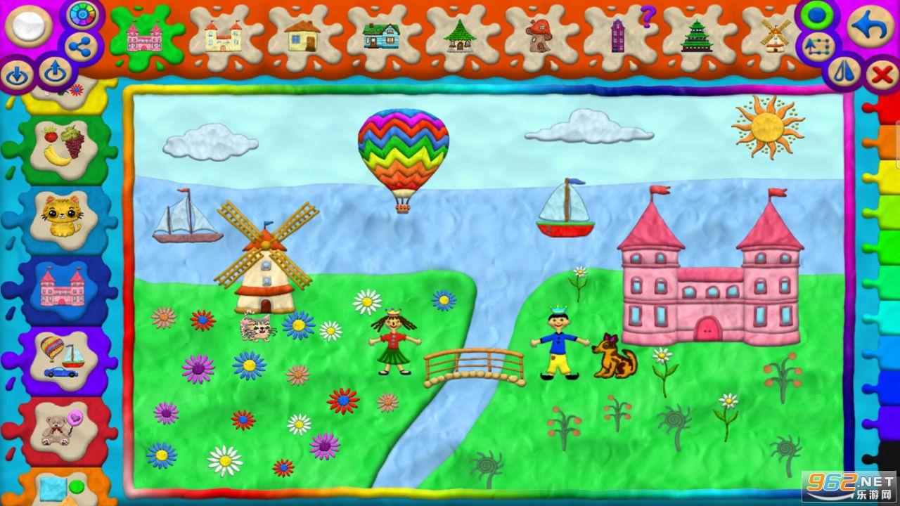 儿童绘画涂鸦游戏免费v1.0.0截图1