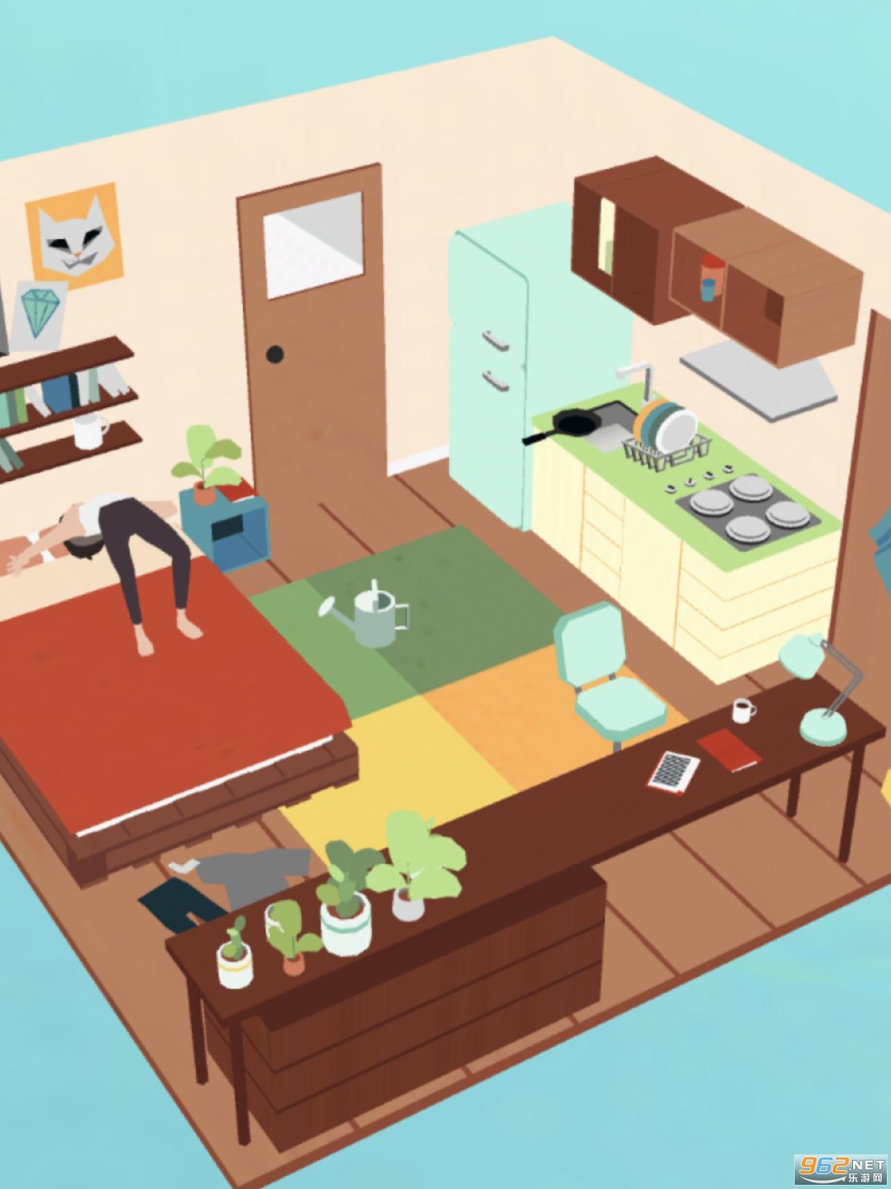 赖床模拟器游戏v1.0 手游截图3