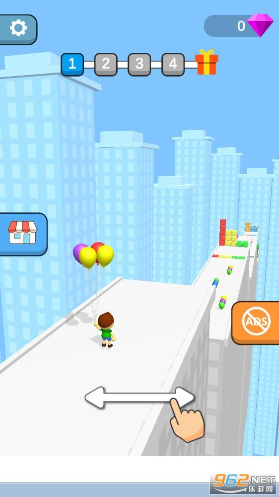 气球男孩官方版v7Balloon Boy截图0