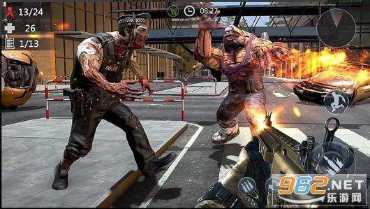 僵尸大战绝地求生游戏v1.0最新版截图1