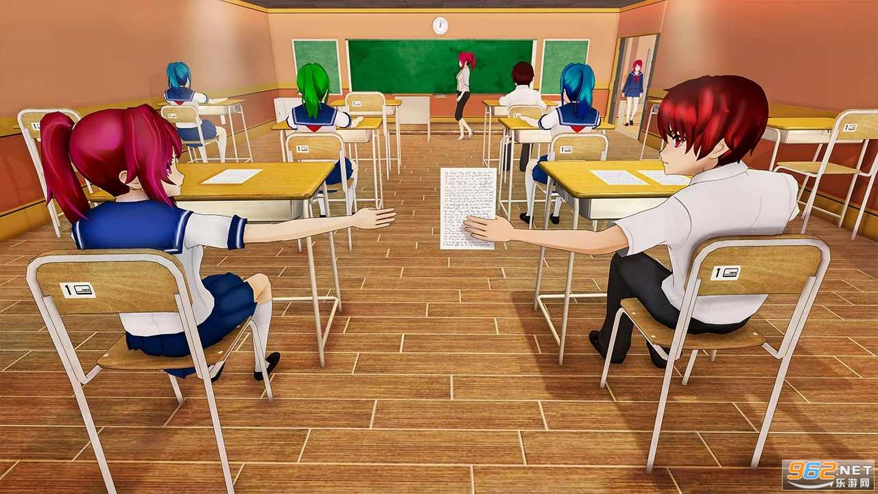 动漫高校生活模拟器游戏v1.0.10中文版截图1
