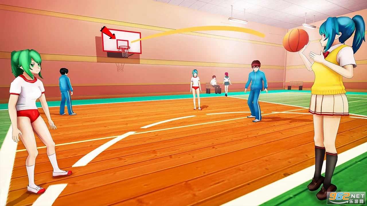 动漫高校生活模拟器游戏v1.0.10中文版截图0
