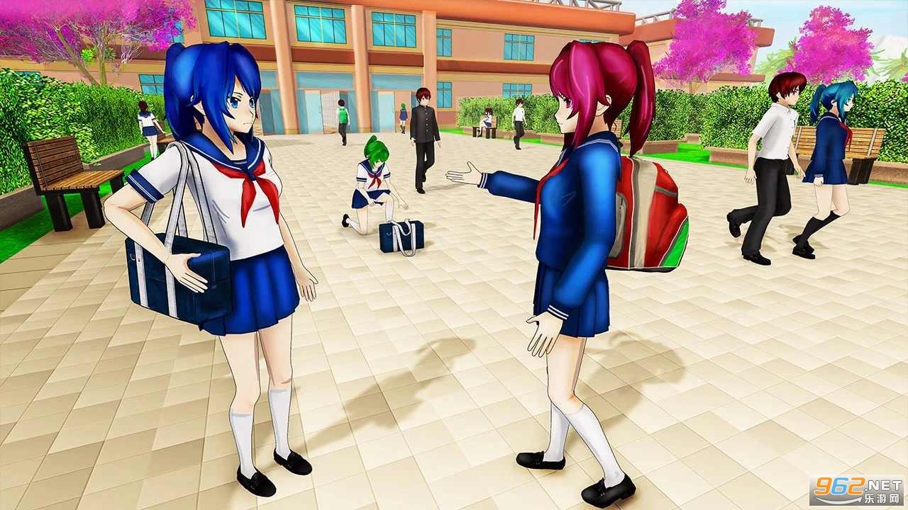 动漫高校生活模拟器游戏v1.0.10中文版截图3