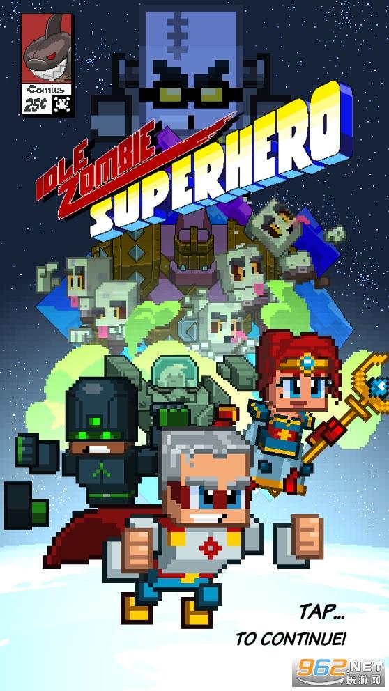 空闲僵尸超级英雄游戏