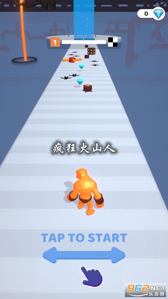 疯狂火山人游戏