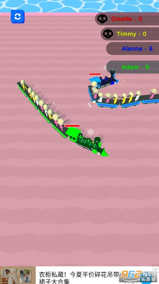 火车大作战游戏v0.1 (TrainWar.io)截图3
